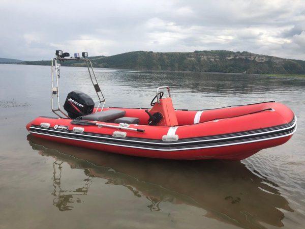 rigid inflatable boat navigator 500