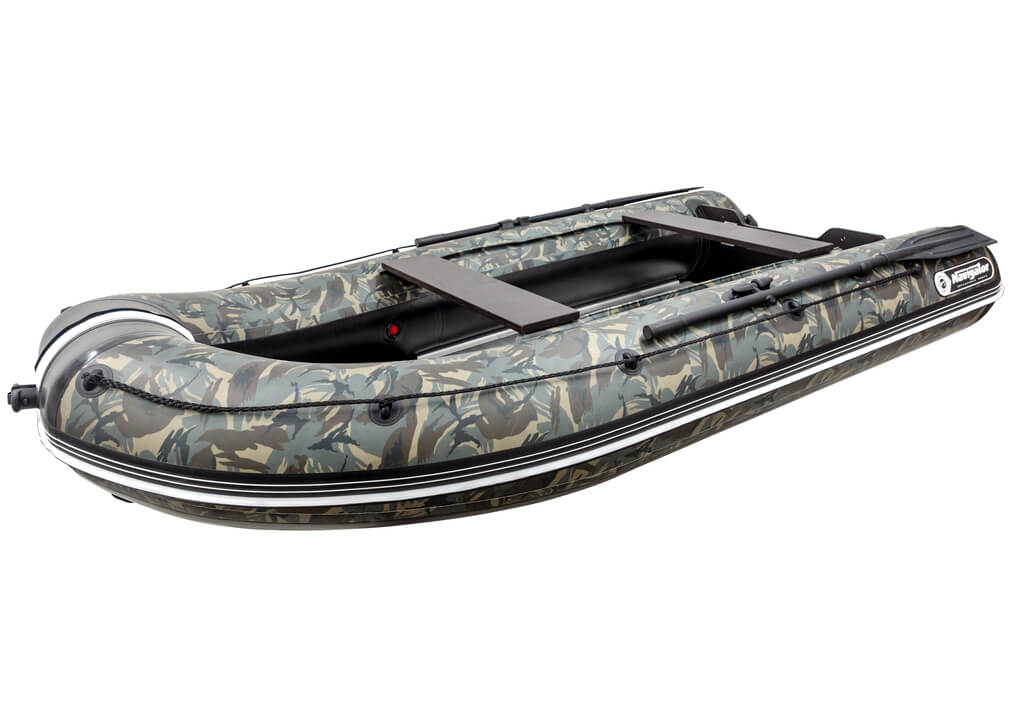 Inflatable Boat for Hunting and Fishing