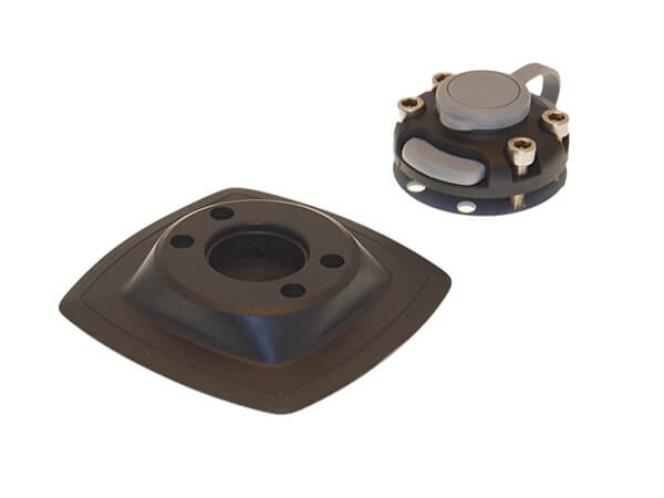 Castle and mounting platform for installation on an inflatable board FASTen [FMp224] plate