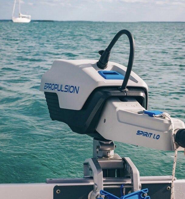 inflatable boat outboard rib motor electro epropulsion spirit canada toronto ontario quebec for sale solar energy eco friendly