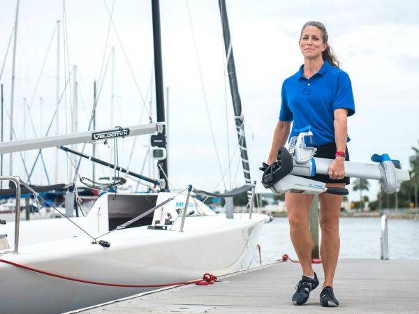 light weight electro motor for inflatable boat epropulsion spirit 1.0 plus solar energy enviromental friendly