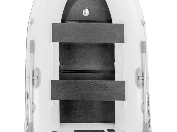 navigator inflatable boat for fishing lp240bk white with a keel