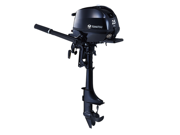 Tohatsu 2.5hp 4-Stroke (MFS2.5C) outboard motor for Sale in Toronto, Ontario, Canada