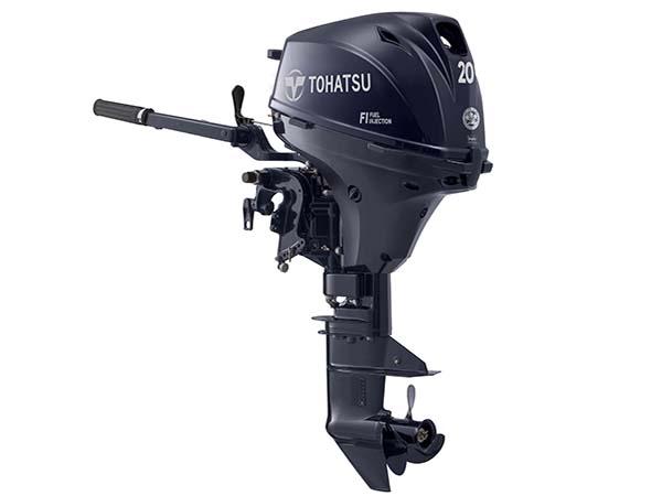 Tohatsu 20hp 4-Stroke (MFS20E) outboard motor for Sale in Toronto, Ontario, Canada