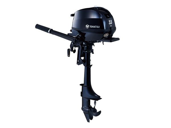 Tohatsu 3.5hp 4-Stroke (MFS3.5C) outboard motor for Sale in Toronto, Ontario, Canada