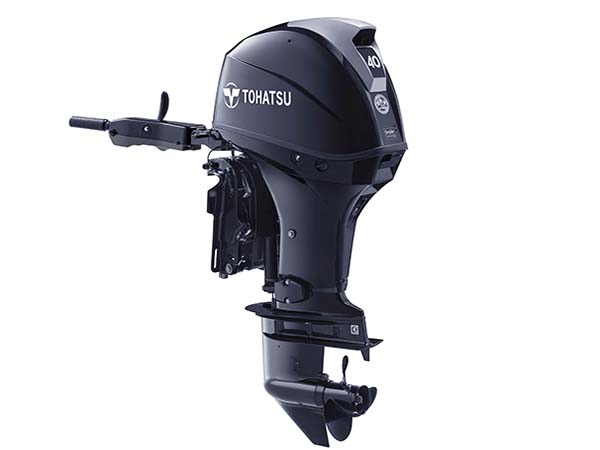 Tohatsu 40hp 4-Stroke (MFS40A) outboard motor for Sale in Toronto, Ontario, Canada