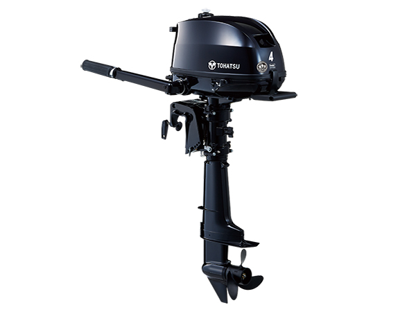 Tohatsu 4hp 4-Stroke (MFS4D) outboard motor for Sale in Toronto, Ontario, Canada