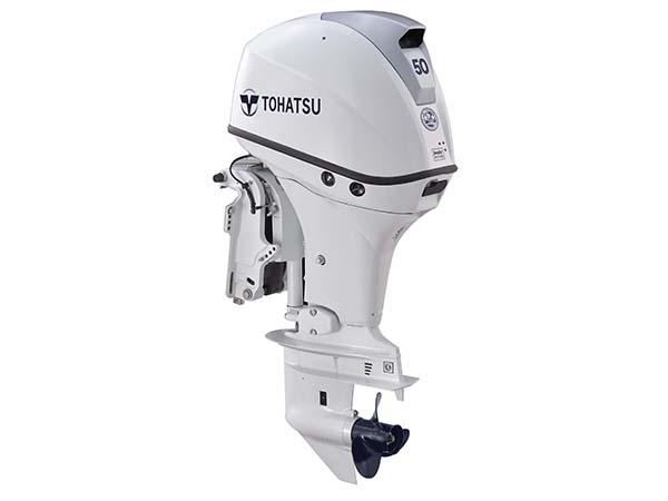 Tohatsu 50hp 4-Stroke (MFS50A) White outboard motor for Sale in Toronto, Ontario, Canada