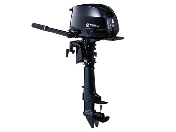 Tohatsu 5hp 4-Stroke (MFS5D) outboard motor for Sale in Toronto, Ontario, Canada