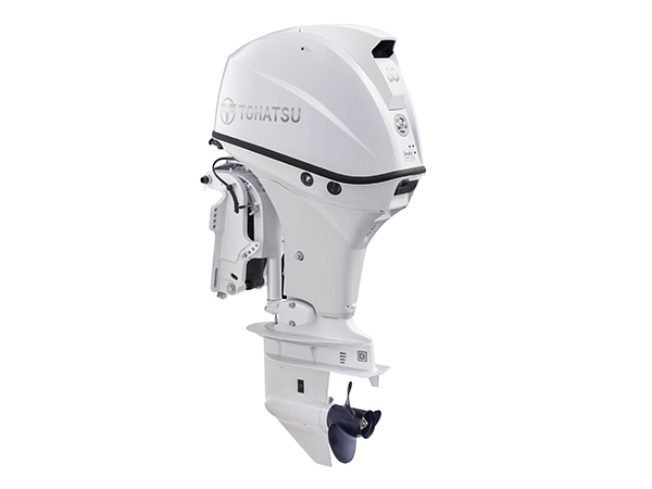 Tohatsu 60hp 4-Stroke (MFS60A) White outboard motor for Sale in Toronto, Ontario, Canada