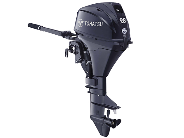 Tohatsu 9.8hp 4-Stroke (MFS9.8B) outboard motor for Sale in Toronto, Ontario, Canada