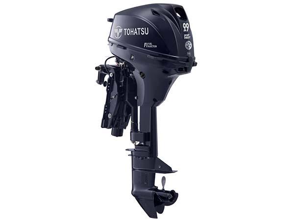 Tohatsu 9.9hp 4-Stroke (MFS9.9E) outboard motor for Sale in Toronto, Ontario, Canada