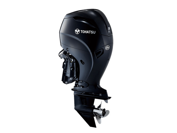 Tohatsu 75hp 4-Stroke (MFS75A) outboard motor for Sale in Toronto, Ontario, Canada
