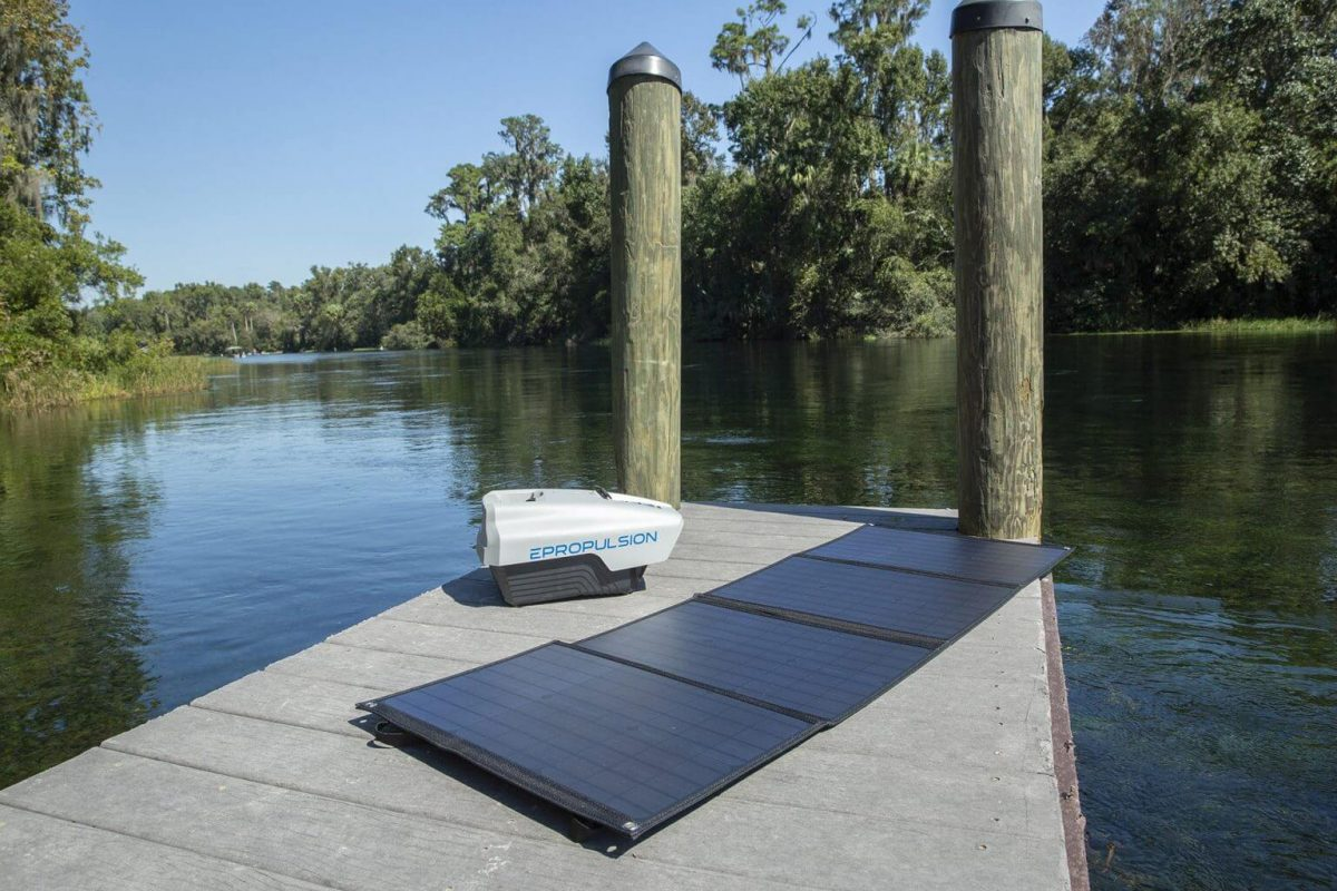 electric outboard motor solar energy charge evo 1.0 spirit plus outboard for inflatable boat